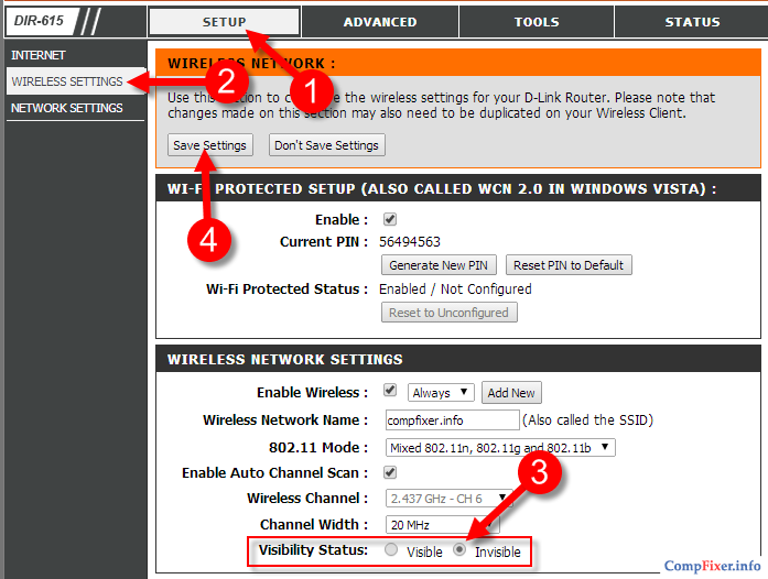 Invisible wifi  How to hide a Wi-Fi network on a Tp-Link